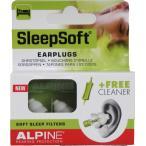 睡眠用耳栓 アルパイン SleepSoft いびきブロック クリーナー付