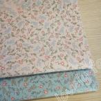 綿素材 綿 花柄 1mカット売り DIY 衣料