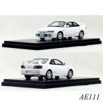 インターアライド ハイストーリー 1/43 Toyota COROLLA LEVIN  BZ-R AE111(2000)スーパーホワイト2