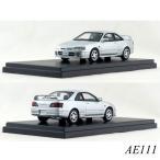 インターアライド ハイストーリー 1/43 Toyota COROLLA LEVIN  BZ-R AE111(2000)シルバーメタリック