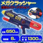 水ピストル エアメガクラッシャー エアー圧縮式 強力飛距離8m ウォーターガン 水鉄砲 水でっぽう 水てっぽう