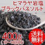 ヒマラヤ岩塩 ブラックバスソルト(1-3mmサイズ) 400g