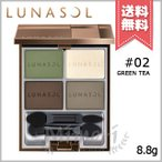 【送料無料】LUNASOL ルナソル マカロングロウアイズ #02 Green Tea 8.8g