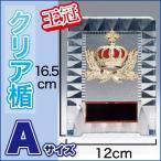 優勝楯 盾 K1102-Aサイズ(縦16.5cm 横12cm 重さ150g)(H-3)