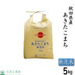 新米 【無洗米】 秋田県産 農家直送 あきたこまち 5kg 令和3年産 古代米(赤米or黒米)お試し袋付き