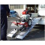 アルミス アルミブリッジ ABS-180-25-0.5 2本セット (6尺/0.5t/幅25cm) [アルミブリッジ アルミ製 道板 ラダーレール スロープ トラック][r20]