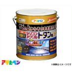アサヒペン 油性超耐久シリコンアクリルトタン用スーパー 3kg (新茶) [ハウスケア 屋根 とい][r11][s1-120]