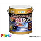アサヒペン 油性超耐久シリコンアクリルトタン用スーパー 3kg (黒) [ハウスケア 屋根 とい][r11][s1-120]