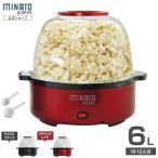 ミナト ポップコーンメーカー POP-601 (容量6L/家庭用100V) [ポップコーンマシーン]