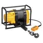 リョービ 電動ウインチ 定置型 WIM-150 (100V/150kg/揚程37m) [電動ウィンチ][r11][s1-120]