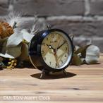 目覚まし時計 ダルトン アラームクロック ブラック 黒色 DULTON  時計 アンティーク レトロ クオーツ