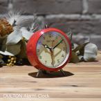 目覚まし時計 ダルトン アラームクロック レッド 赤 DULTON  時計 アンティーク レトロ クオーツ