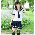 女子高生 セーラー服 5点セット サイズM   【送料無料】  ctr-556