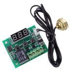 サーモ スイッチ XD-1029 温度計 デジタル 調整精度 温度センサー コード1m 電子 鰐口 クリップ 赤 黒  【送料無料】ctr-948