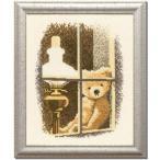 これ素敵っ クロスステッチ 刺繍キット テディベア L302 【送料無料】lvt-302