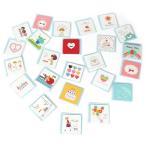 ショッピングメッセージカード無料 かわいい 封筒付き カラフル ミニ メッセージカード 72枚 大容量 セット 【送料無料】mmk-j10