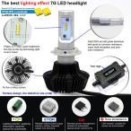 【みねや】LEDヘッドライト PHILIPS LUXEON ZESチップ搭載 ファンレス H1/H3/H7/H8/H11/H16/HB3/HB4/PSX24W【2灯で8000LM】車検合格実績あり!一年保証