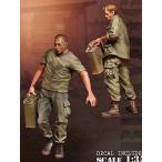 """現用アメリカ軍 ジェリカンを運ぶ兵士 ベトナム(2体入) U.S. G.I.s """"Jerrycans"""" NAM 1/35"""