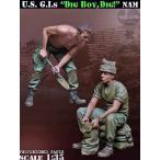"""現用アメリカ軍 兵士 """"掘れ!掘れ!"""" ベトナム(2体入) US G.I.s """"Dig Boy, Dig!"""" Nam 1/35"""