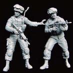 現用アメリカ軍 特殊部隊チーム #2(2体入)  US soldiers special group team  1/35