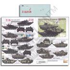 現用 ウクライナ-ロシア危機 ノヴォロシアのAFV(T-72B1 ERA戦車/BMP-2歩兵戦闘車) デカール パート3  Novorossian AFVs  Pt 3 1/35