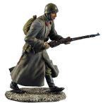 ロシア軍 コート姿で走る歩兵  Russian Infantry Running in Greatcoat  1/35