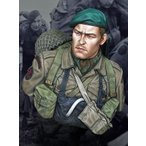 イギリス軍 コマンド ノルマンディ上陸作戦 1944年6月 WW2 British Commando on D-Day, June 1944 1/10バスト