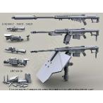 現用アメリカ軍 軸受けベアリングスリーブ/伸長ベアリングスリーブ付き装甲盾バレット重マウント搭載 バレットM82A1/107A1 12.7mm遠距離狙撃銃(LRSR)  1/35