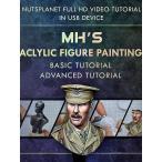 Yahoo!ミニチュアパークMyeong Ha Hwangの アクリル絵の具によるフィギュアペインティング個人指導 基本セット  MH's Acrylic Figure painting Tutorial 【セール対象外】 [NP-T002]