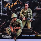 現用北ベトナム軍(NVA) 戦車搭乗兵セット #3(2体入)  NVA tank riders( set3 )   1/35