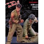 「同志」 現用北ベトナム軍(NVA) 脱出する戦車兵 #2(2体入)  COMRADES 2  1/35