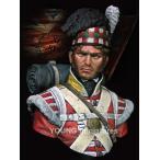 イギリス軍 第92ゴードン・ハイランダーズ連隊 ワーテルロー 1815年 The 92nd Gordon Highlanders - Waterloo 1815  1/10バスト[YH..