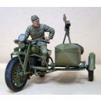 日本軍 陸王-自動二輪車兵(スペアヘッド付。陸王は含まれません)