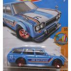 ホットウィール ミニカー 71 DATSUN BLUEBIRD 510 W