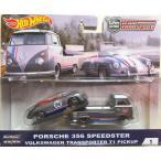 ホットウィール ミニカー チームトランスポート PORSCHE 356&VW T1 ポルシェ&ワーゲンT1