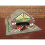 コーギー Mini Cooper Rob Stacey,Restoration Model & Work Shop Diorama