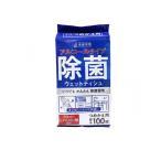 清潔習慣 アルコールタイプ 除菌ウェットティッシュ 100枚 (詰め替え用) (1個)