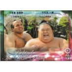 16BBM大相撲カード #79 オフショット 千代丸 & 大砂嵐