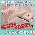 アートブラシ社 カーペットブラシ ホコリ 糸くず カーペット 絨毯 マット ブラシ 日本製
