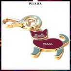 プラダ キーケース・キーリング PRADA 1PS433 QVW レッド系