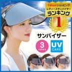 サンバイザー レディース 自転車 UVカット クリア 透明 ゴルフ メンズ 日焼け対策 ワイド バイザー 可動式29