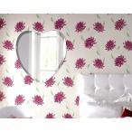 ショッピング壁掛け 壁掛け鏡 壁掛けミラー ウォールミラー 姿見 姿見鏡 クリスタルミラー シリーズ(ハート):クリアーミラー(通常の鏡) デラックスカットタイプ