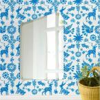 ショッピング壁掛け 壁掛け鏡 壁掛けミラー ウォールミラー 姿見 姿見鏡 クリスタルミラー シリーズ(アイスバーグ):クリアーミラー(通常の鏡) デラックスカットタイプ