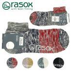 其它 - メール便送料無料 rasox ラソックス メンズ レディース ソックス 靴下 MISMATCH LOW ミスマッチ・ロウ CA101AN01 ラソックス rasox メール便対応