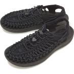 KEEN キーン メンズ サンダル 靴 UNEEK 3C MEN ユニーク スリーシー Black/Black 1014097