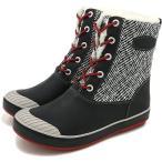 キーン レディース エルサ エル ブーツ ウォータープルーフ KEEN スノーブーツ WOMEN Elsa L Boot WP Black/Red Dahlia  1015636 FW16