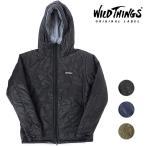 ワイルドシングス リバーシブル プリマロフト フーデッドジャケット WILD THINGS メンズ アウター 中綿パーカー WT001N