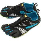 Vibram FiveFingers ビブラムファイブフィンガーズ メンズ KMD Sport LS Black/Blue/Green 5本指シューズ ベアフット 16M3701