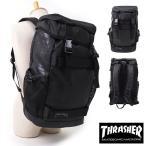 THRASHER スラッシャー リュック ボード収納フラップバックパック かぶせ デイパック BLACK/GONZ-LOGO THRPN-8900