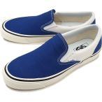 ショッピングvans スリッポン VANS バンズ メンズ スニーカー アナハイム クラシック スリップオン98 DX スリッポン og blue/white ブルー  VN0A3JEXQF7 SS18